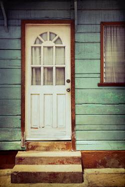 Irene Lamprakou WHITE DOOR IN WEATHERBOARD HOUSE Building Detail
