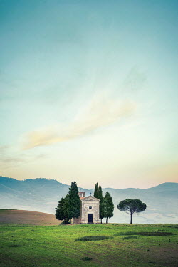 Evelina Kremsdorf country church in Tuscany, Italy Religious Buildings