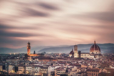 Evelina Kremsdorf SKYLINE OF FLORENCE AT SUNSET Miscellaneous Cities/Towns