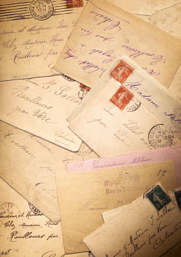 Jan Bickerton CARDS AND LETTERS FROM FRANCE Miscellaneous Objects