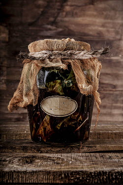 Kelly Sillaste HOMEMADE HERBS AND LEAF JAM IN GLASS JAR Miscellaneous Objects