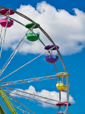 Elisabeth Ansley BIG WHEEL AND BLUE SUMMERY SKY Miscellaneous Objects