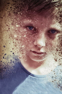 Nicola Smith FACE OF CRUMBLING YOUNG BOY Children