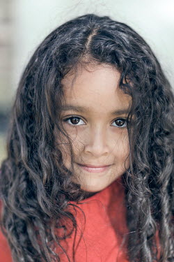 Evelina Kremsdorf PRETTY LITTLE BLACK GIRL SMILING Children