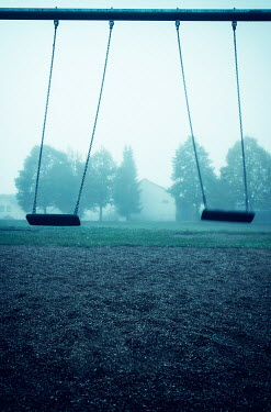 Carmen Spitznagel TWO SWINGS IN EMPTY PLAYGROUND Villages