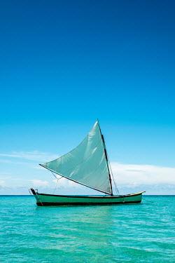 Colin Hutton BOAT SAILING ON CALM BLUE SEA Boats