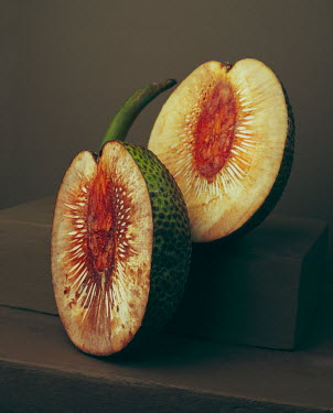 Allan Jenkins EXOTIC FRUIT CUT IN HALF Miscellaneous Objects