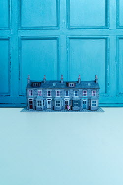 Stephen Mulcahey A street of model terraced houses Miscellaneous Objects