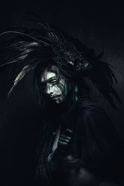 Chad Michael Ward SINISTER MAN IN FEATHERED HEADDRESS Men