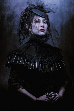 Chad Michael Ward GOTHIC WOMAN IN HISTORICAL DRESS Women
