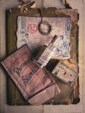 Jane Morley RETRO PACKAGING WITH OLD BOOK Miscellaneous Objects