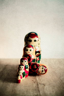 Aurelie Sarramon CLOSE UP OF RUSSIAN DOLLS Miscellaneous Objects