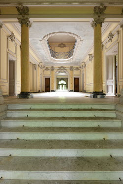 RomanyWG STEPS LEADING TO GRAND ROOM INSIDE PALACE Interiors/Rooms