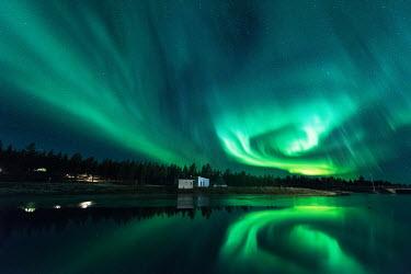 Ollie Taylor Kakslauttanen Finland with the Aurora Borealis Lakes/Rivers
