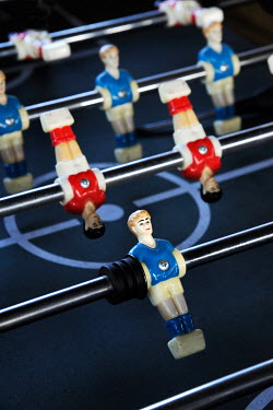 Ute Klaphake CLOSE UP OF TABLE FOOTBALL Miscellaneous Objects
