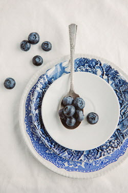 Isabelle Lafrance BLUEBERRIES AND SILVER SPOON Miscellaneous Objects