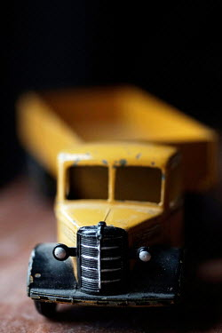 Adrian Muttitt VINTAGE YELLOW TOY TRUCK Miscellaneous Objects