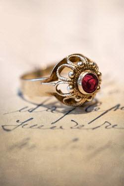 Jaroslaw Blaminsky ANTIQUE RING ON LETTER Miscellaneous Objects