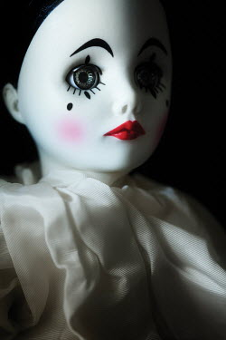 Amy Weiss SAD CHINA PIERROT DOLL Miscellaneous Objects