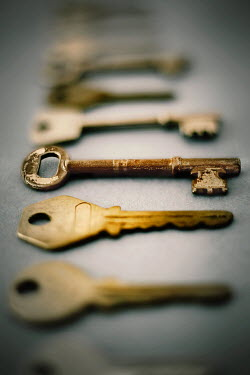 Peter Hatter CLOSE UP OF KEYS Miscellaneous Objects