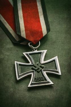 Jaroslaw Blaminsky CLOSE UP OF NAZI MEDAL Miscellaneous Objects