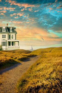 Jill Battaglia VICTORIAN HOUSE BY OCEAN Houses
