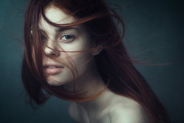 Dmitry Ageev BEAUTIFUL WOMAN WITH AUBURN HAIR Women