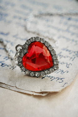 Jaroslaw Blaminsky HEART PENDANT WITH RUBY Miscellaneous Objects