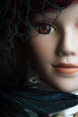 Jaroslaw Blaminsky CLOSE UP OF CHINA DOLL Miscellaneous Objects