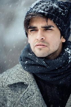 Tijana Moraca HANDSOME MAN IN SNOW Men