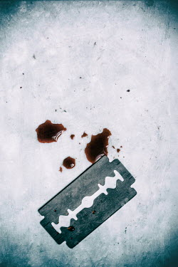 Jill Ferry RAZOR BLADE AND BLOOD Miscellaneous Objects