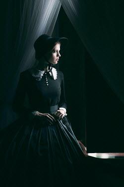 Magdalena Russocka HISTORIC WOMAN IN BONNET Women
