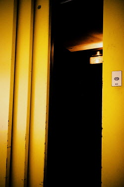 Elly De Vries ELEVATOR WITH OPEN DOOR Building Detail