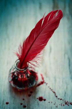 Nilufer Barin QUILL IN INKWELL OF BLOOD Miscellaneous Objects