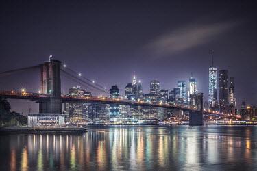 Evelina Kremsdorf NEW YORK CITY SKYLINE Bridges