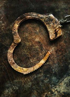 Jaroslaw Blaminsky RUSTY OPEN HANDCUFF Miscellaneous Objects