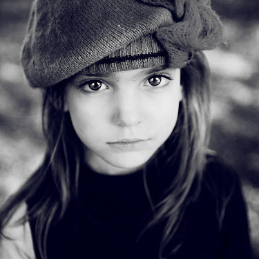 Christine Amat PRETTY YOUNG GIRL WEARING HAT Women