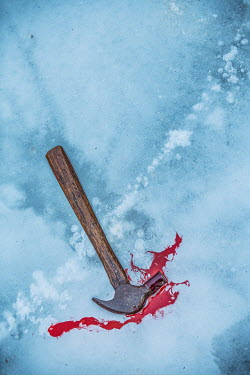 Magdalena Russocka HAMMER ON ICE WITH BLOOD Miscellaneous Objects