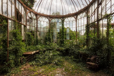 James Kerwin ABANDONED AND OVERGROWN CONSERVATORY Building Detail