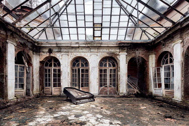 James Kerwin ABANDONED ORANGERY IN PALACE Interiors/Rooms