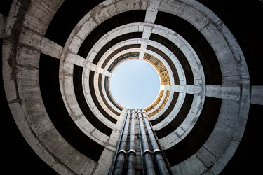 James Kerwin SPIRAL STAIRCASE IN CONCRETE Stairs/Steps