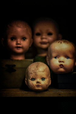 Sally Mundy CREEPY DIRTY DOLLS HEADS Miscellaneous Objects