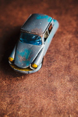 Isabelle Lafrance VINTAGE METAL TOY CAR Miscellaneous Objects