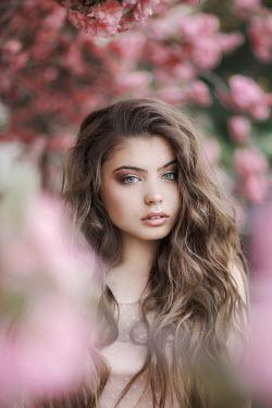 Jovana Rikalo BEAUTIFUL YOUNG WOMAN WITH WAVY HAIR Women
