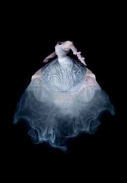Meg Cowell MISTY GHOSTLY BLUE DRESS Miscellaneous Objects