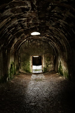 Nik Keevil SINISTER EMPTY CONCRETE BUNKER Interiors/Rooms