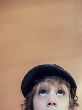 Lena Okuneva YOUNG BOY IN WOOL HAT Children