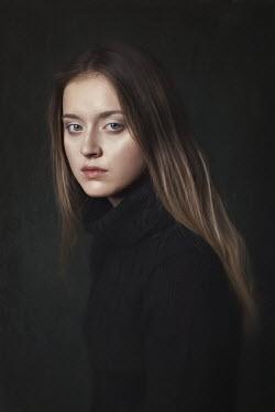 Beata Banach YOUNG WOMAN WITH LONG BLONDE HAIR Women