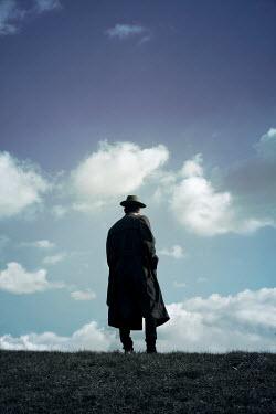 Miguel Sobreira HISTORIC MAN STANDING ON HILL Men