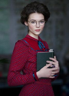 Alexey Kazantsev YOUNG WOMAN HOLDING BOOK Women
